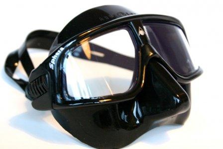 Aqua lung masque de plong e masque sphera noir - Maillot de bain transparent piscine ...